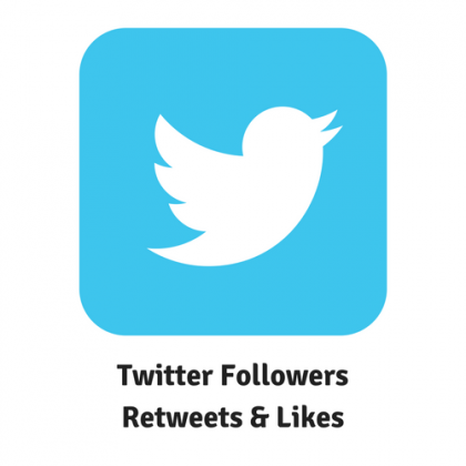 Twitter Followers Retweets and likes