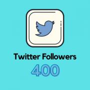 Get 400 Twitter Followers