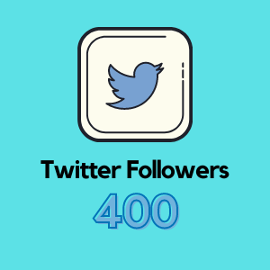 Get 400 Twitter Followers