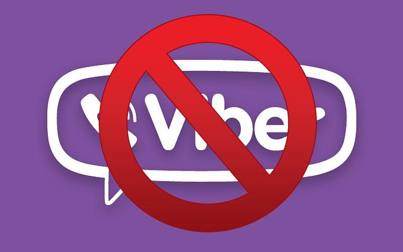 viber blocked