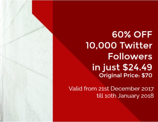10k twitter followers cheap