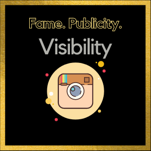 Publicity and visibility on Instagram