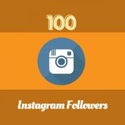 high quality 100 IG followers