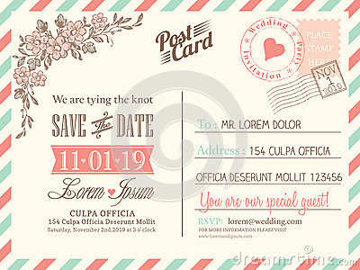 Wedding invitation card for twitter followers