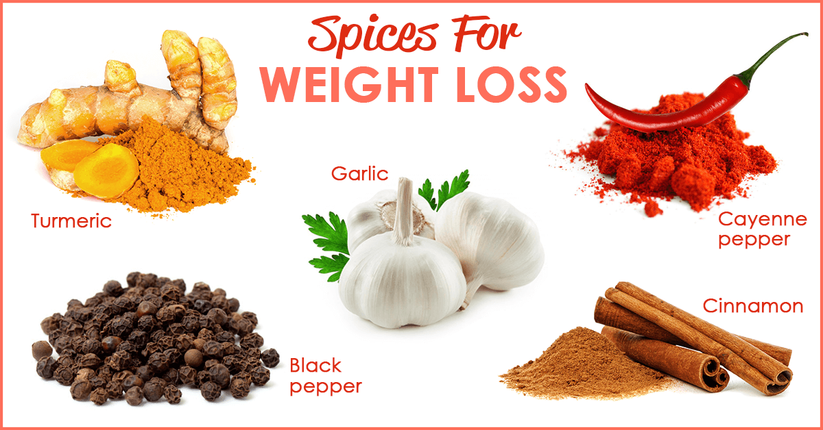 5 spices that are for weight loss