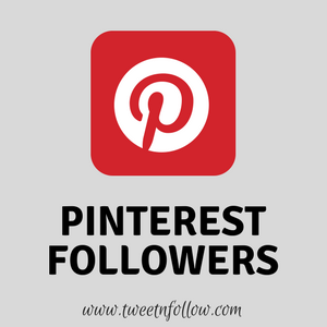 Buy Pinterest Followers By Tweetnfollow
