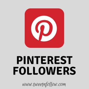 Buy Pinterest Followers By Tweetnfollow
