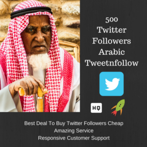 Arabic man to buy twitter followers