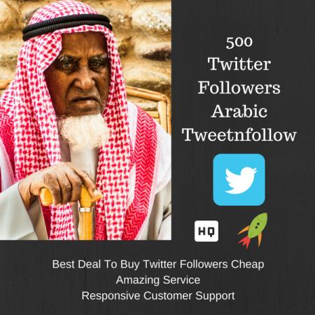 Arabic man to buy twitter followers