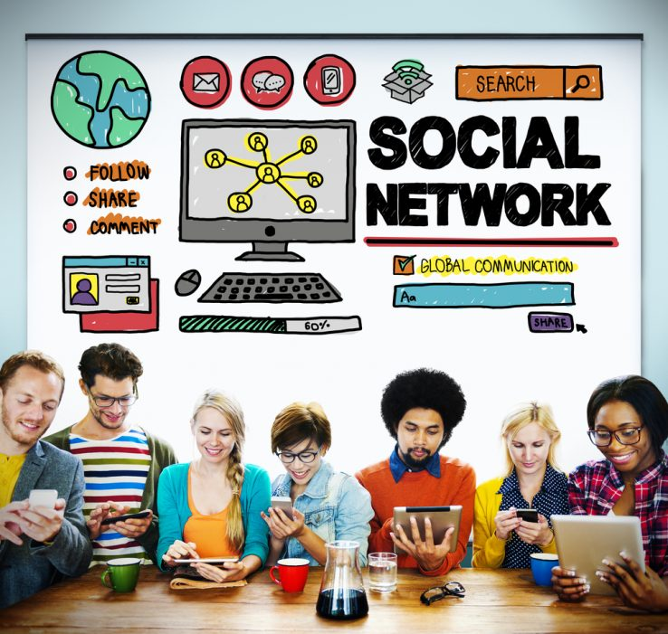 people using social network