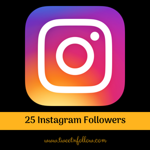 25 Instagram Followers