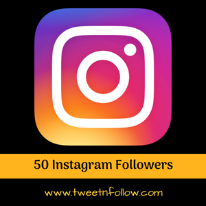 50 Instagram Followers