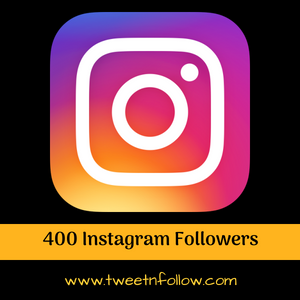 400 Instagram Followers