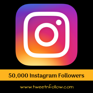 50000 followers on instagram