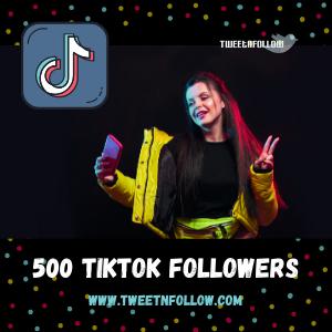 Buy 500 TikTok Followers