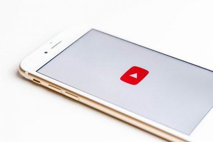 YouTube app on apple iphone
