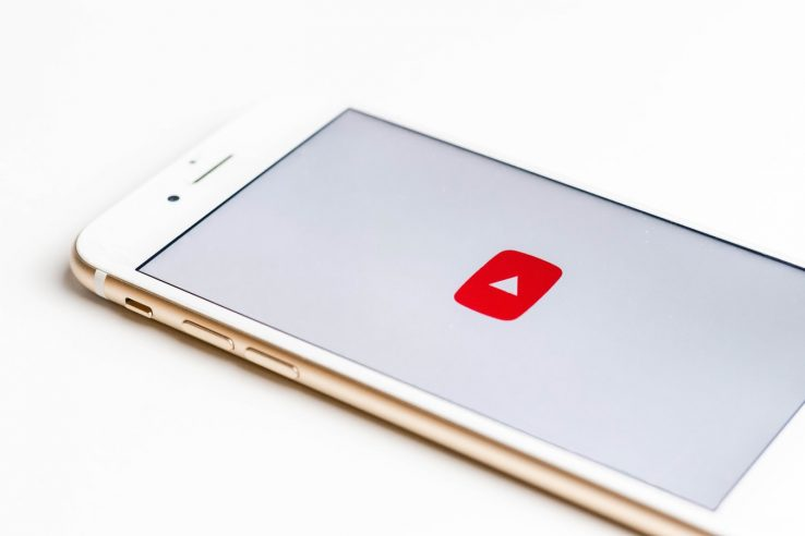 YouTube app on apple iphone