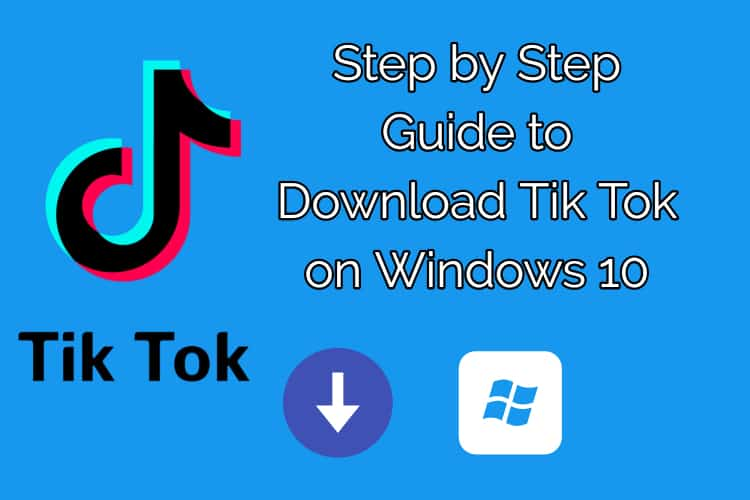How to download TikTok for pc windows 10