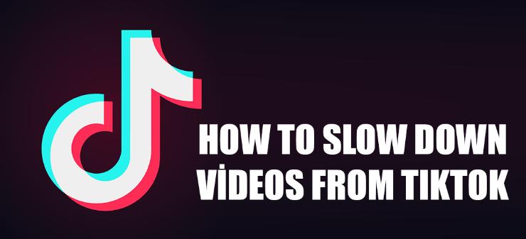 how to make slomo on tiktok