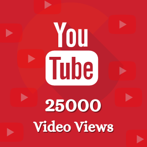 Buy 25000 Yotube Vidoe Views
