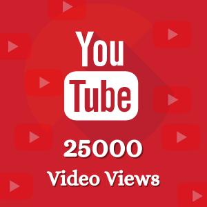 Buy 25000 Yotube Vidoe Views