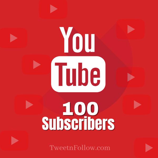 Buy 100 YouTube Subscribers