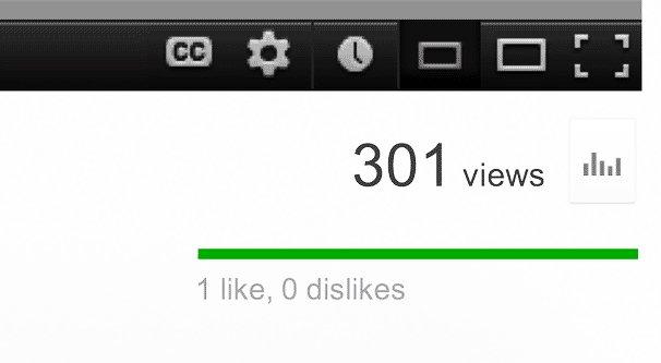 301 YouTube Views