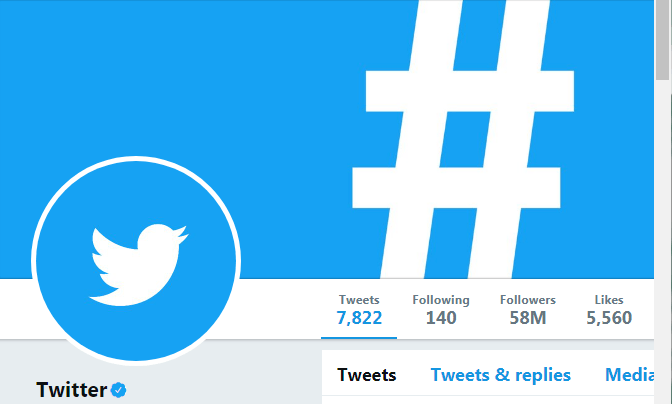 Twitter Profile image and Cover Photo